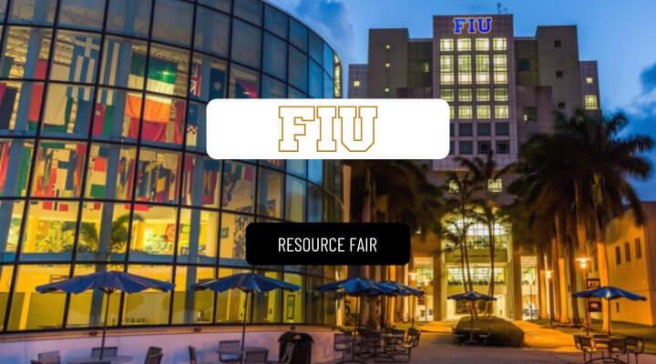 Florida International University Hosts Resource Fair Via Airmeet