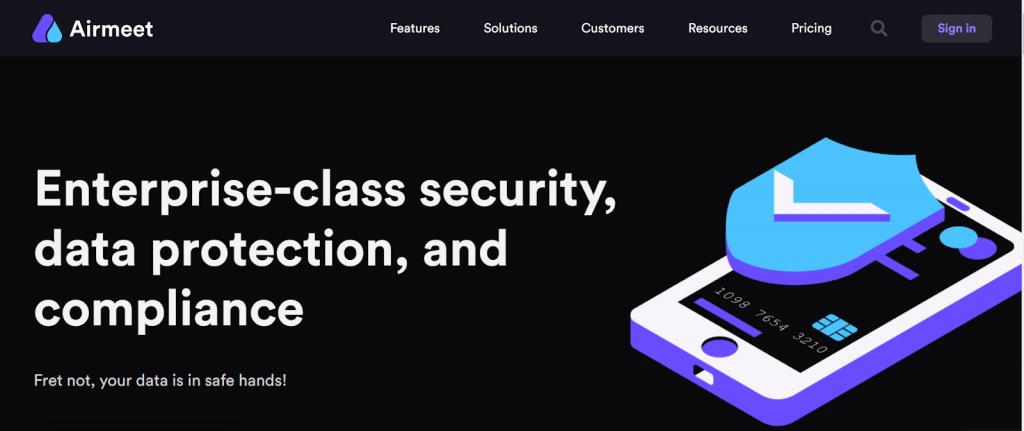 Data Privacy at Airmeet